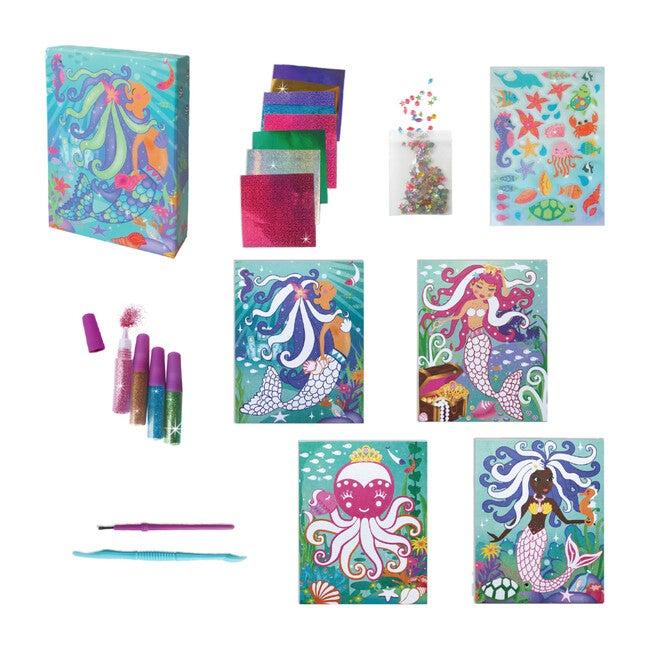 Totally Mermaids  Glitter & Foil Art Set