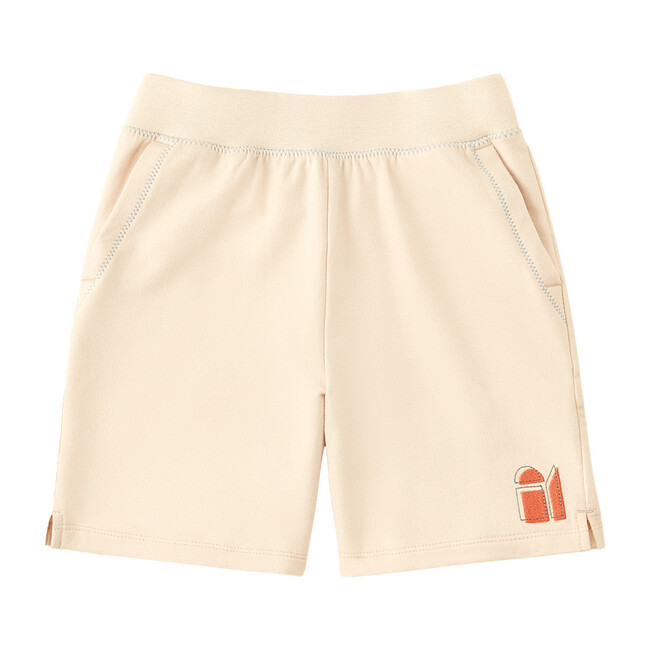 French Terry Shorts, Soft Tan