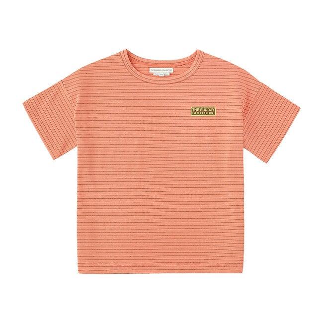 TSC Striped T-Shirt, Burnt Sienna