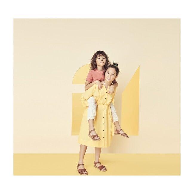 Trench Dress, Daffofil Yellow