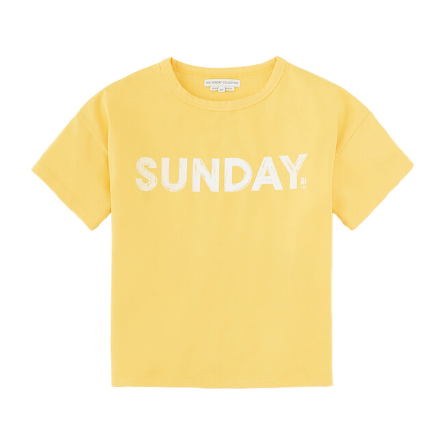 Sunday Drop Shoulder T-Shirt, Samoan Sun