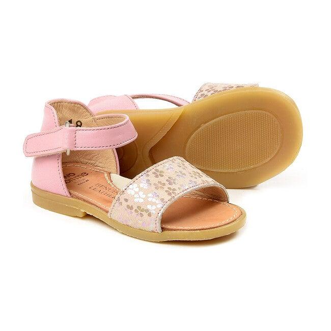 Florals Sandals, Pink