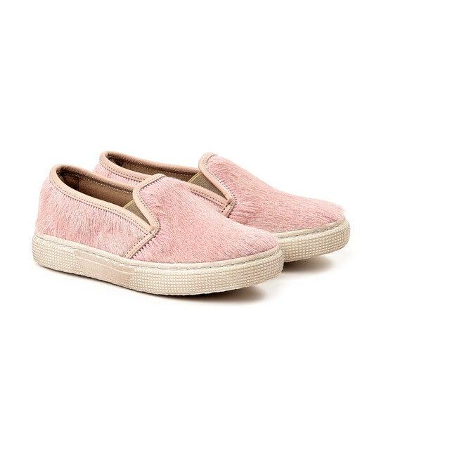 Calf Hair Snekaers, Pink
