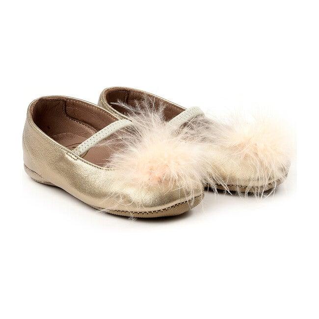 Elastic Band Slippers, Pink