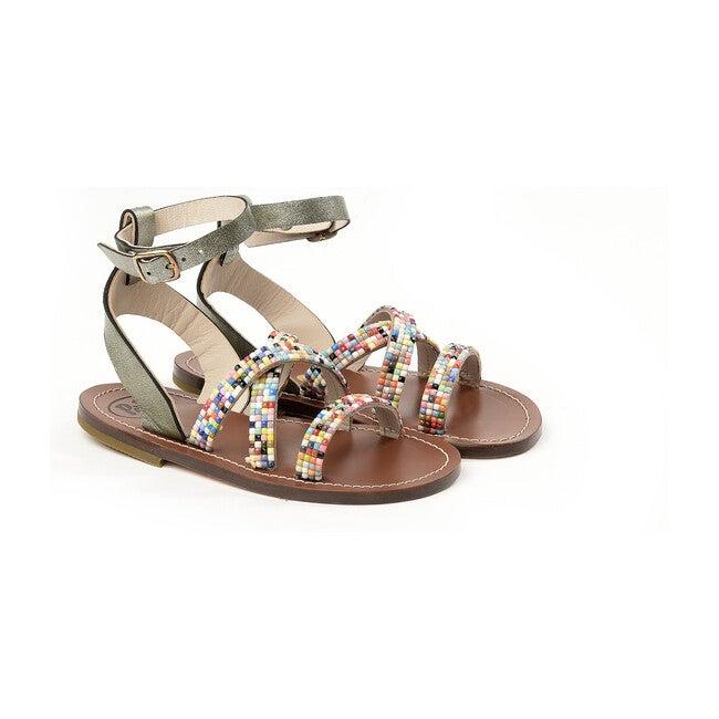 Multicolor Sandals, Multi