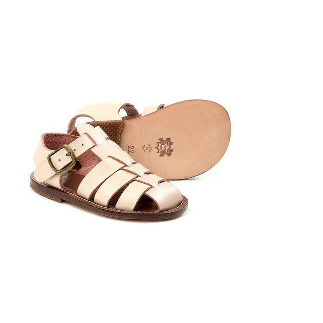 Buckled Sandals, Pink