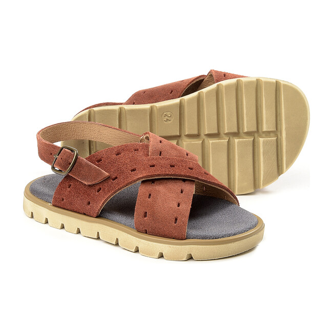 Crossovers Sandals, Brown