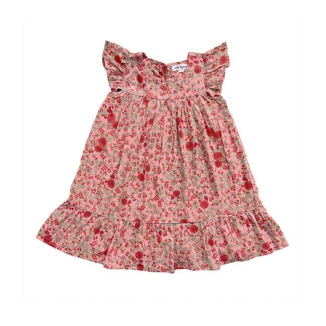 Girls Rhody Cindia Dress, Pink