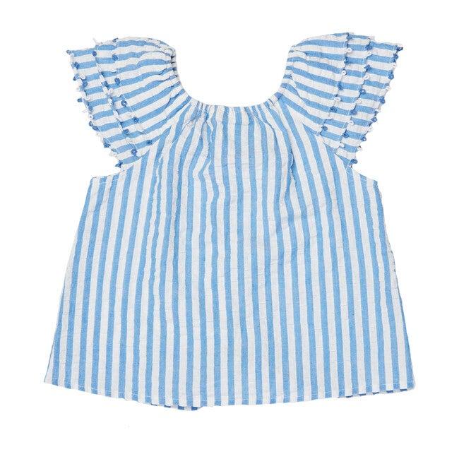 Girls Lur Lavella Top, Blue