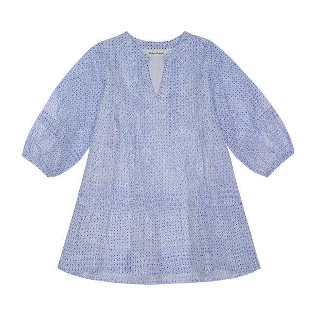 Girls Surry Nyala Dress, Blue