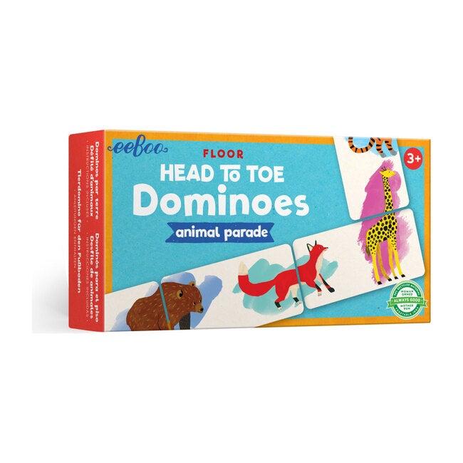 Floor Head to Toe Dominoes Animal Parade