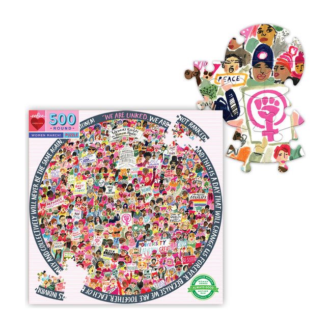 Women March 500 Piece Puzzle