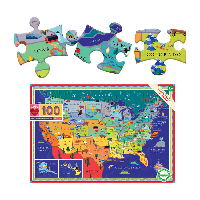 This Land is Your Land 100-Piece Puzzle