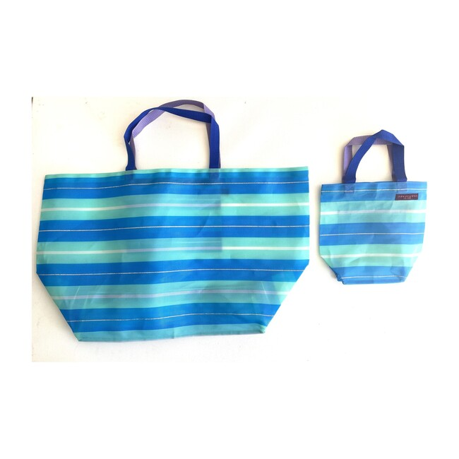 Aqua Oceans Oversized Beach Bag