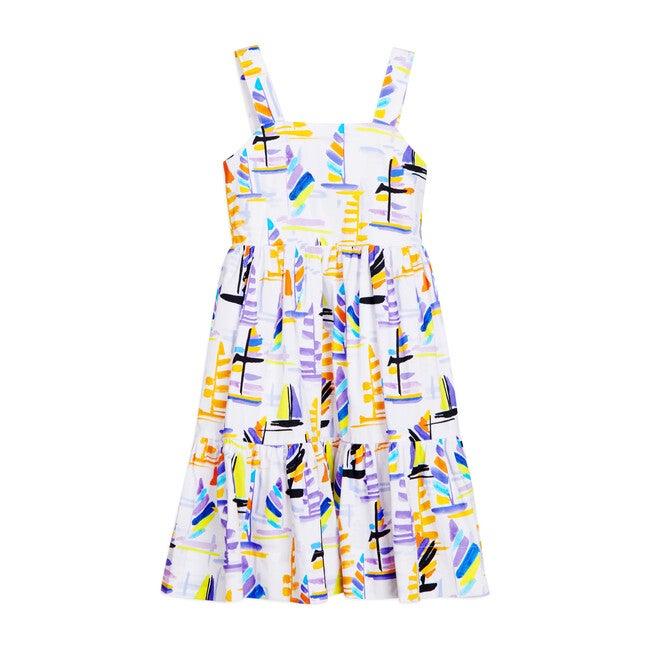 Gia Dress, Sailboat Print