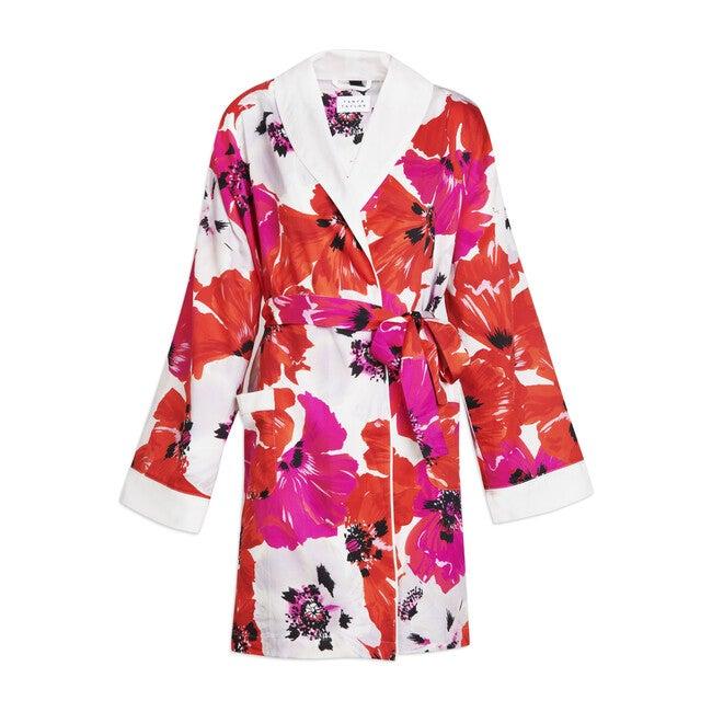 Women's Talia Robe, Poppy Print