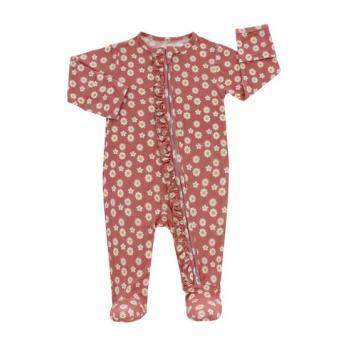 Rose Daisy Footed Pajama