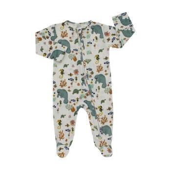 Manatee Footed Pajama