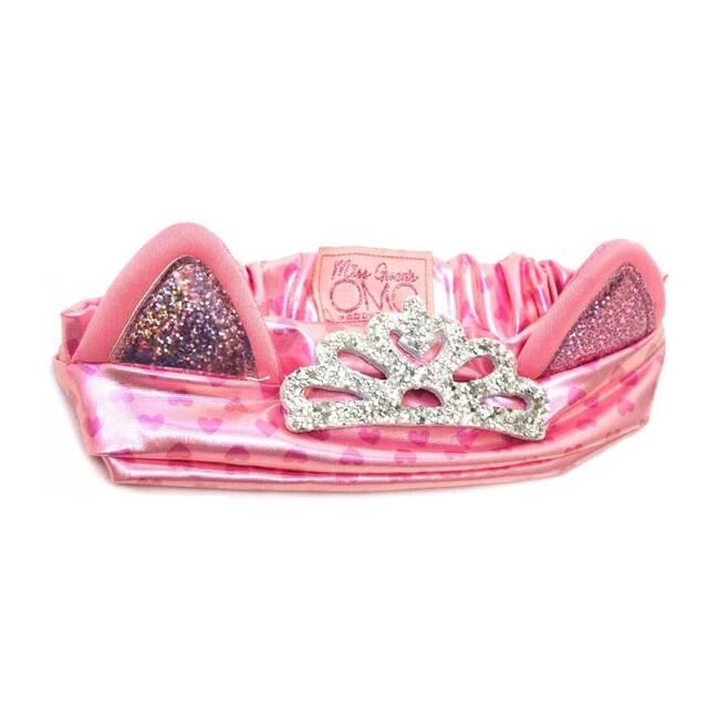 Miss Bella The Kitty Cat Ears Headband, Pink