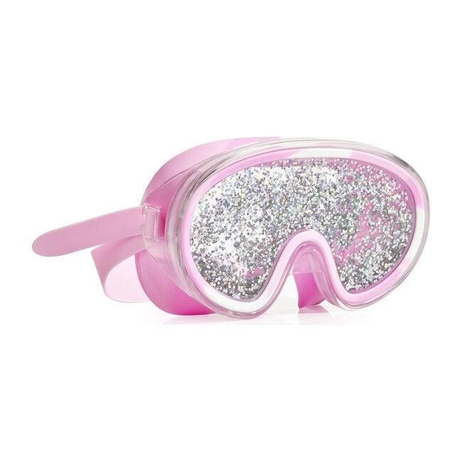 Disco Fever Mask, Glitter Bubblegum Pink