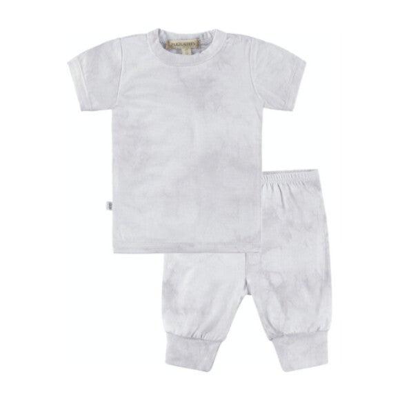 Baby Tie Dye Loungewear Set, Grey