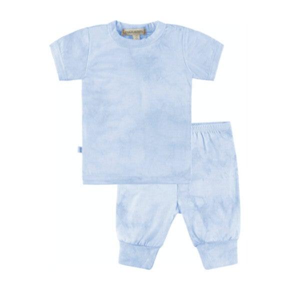 Baby Tie Dye Loungewear Set, Blue