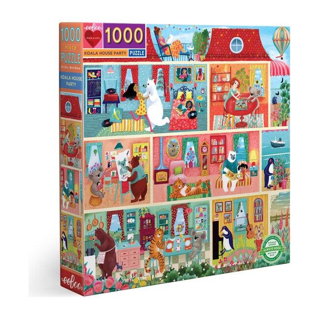 Koala House Party 1000 Piece Puzzle