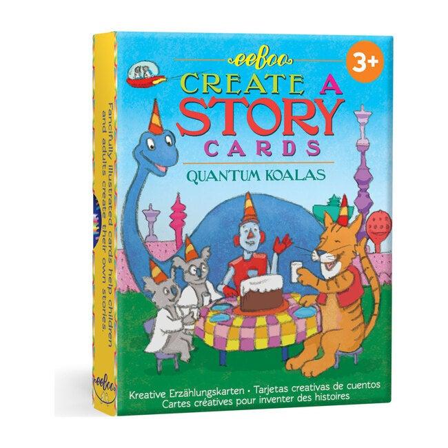 Quantum Koala Create a Story Cards