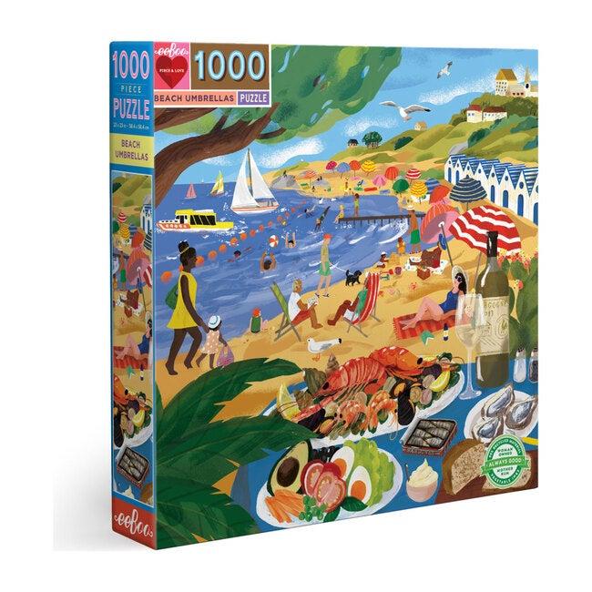 Beach Umbrellas 1000 Piece Puzzle