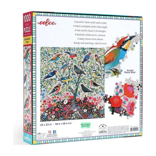 Songbirds Tree 1000 Piece Puzzle