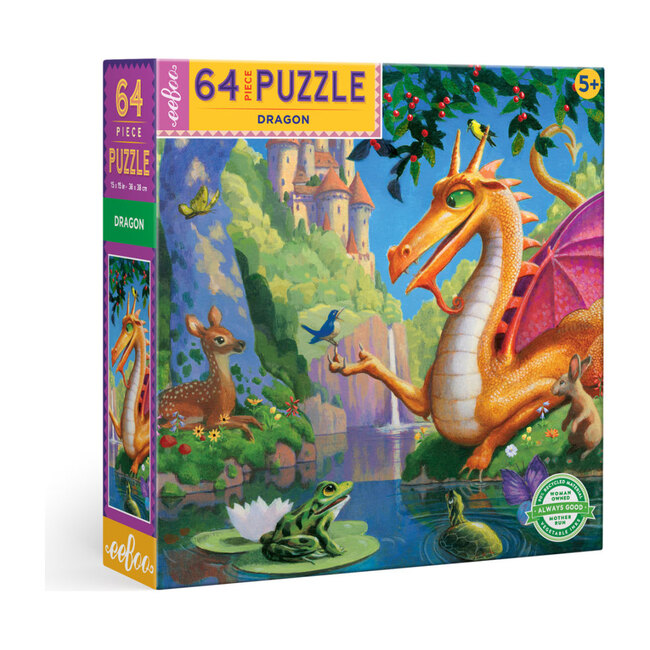 Dragon 64 Piece Puzzle