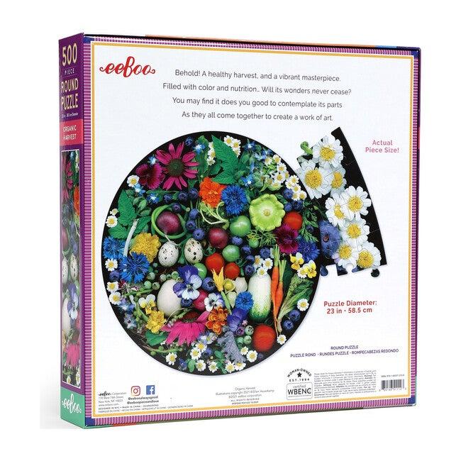 Organic Harvest 500 Piece Round Puzzle