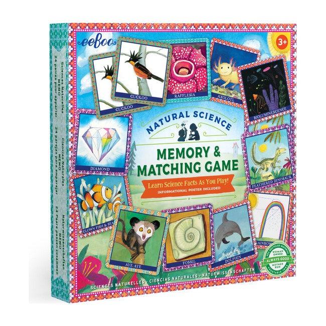 Natural Science Memory Matching Game