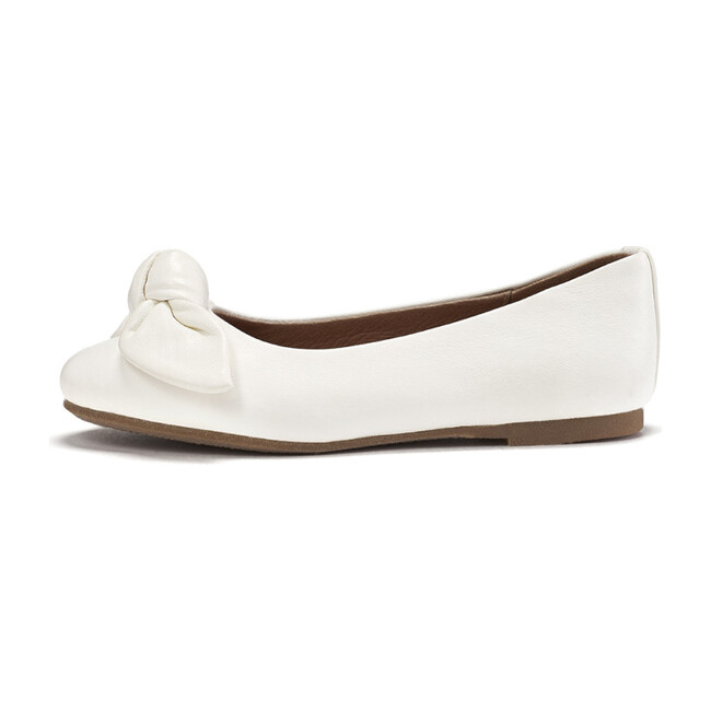 Poppy Leather, White