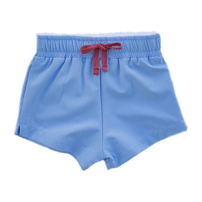 Club Short - Walker, Light Blue Athletic Short