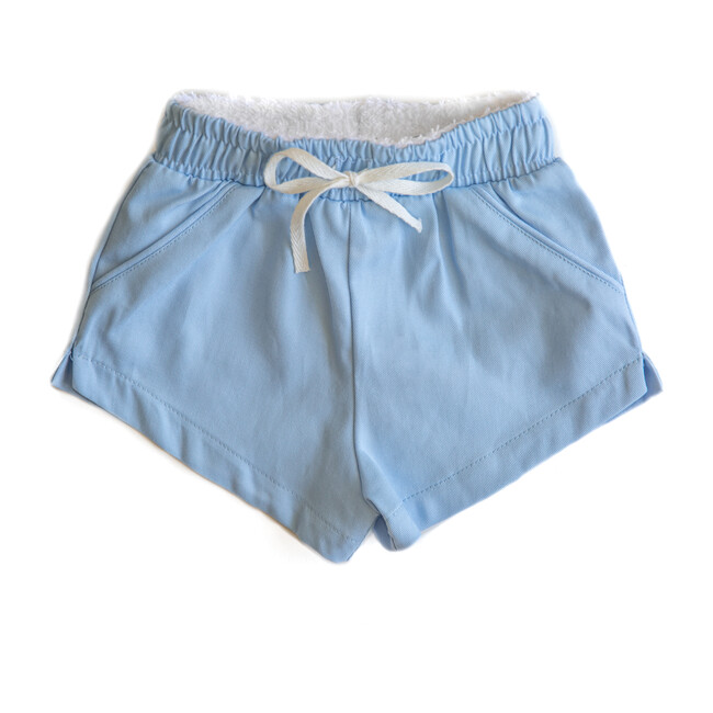 Classic Short - Tate, Solid Light Blue