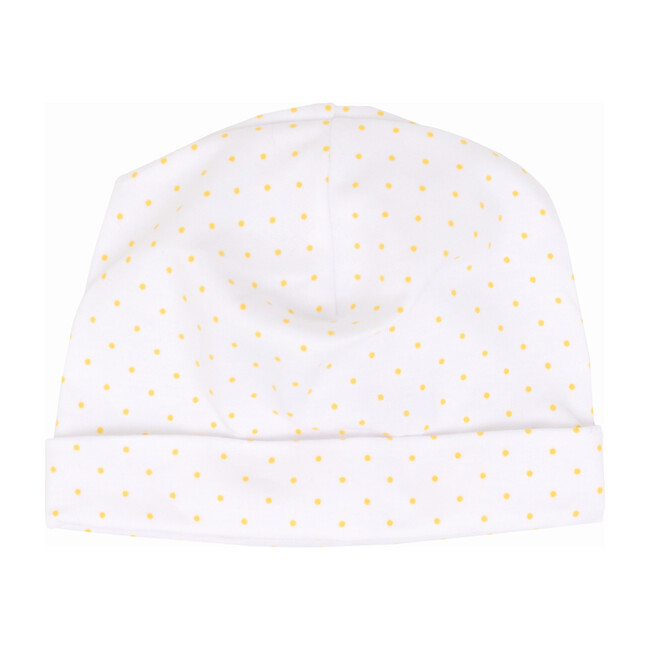 Yellow Dot Receiving Hat