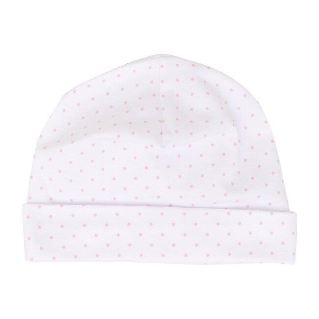 Pink Dot Receiving Hat