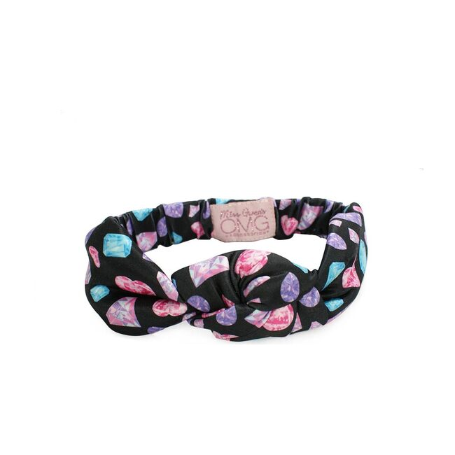 Dazzling Diamonds & Ditzy Daze 2 Pack Headband Set, Black