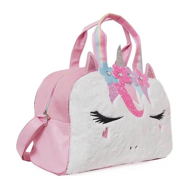 Miss Gwen Flower Crown Plush Duffle Bag, Plush