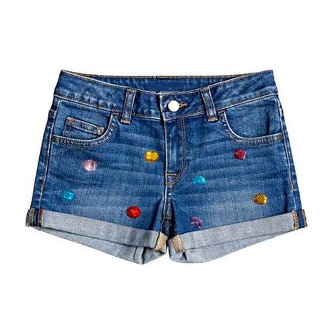Rainbow Gem Jean Shorts, Rainbow