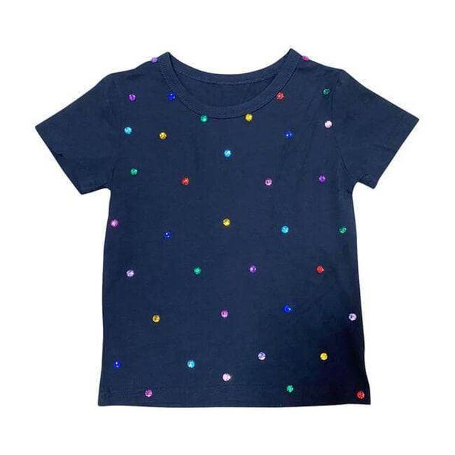 Rainbow Gem T-Shirt, Navy