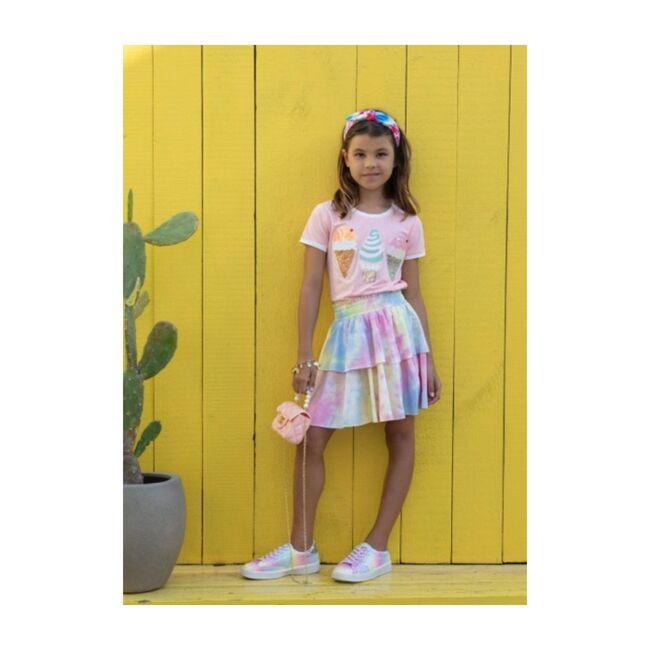 Tiered Skirt, Tie Dye