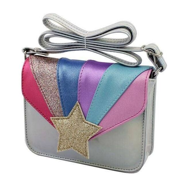 Shimmering Star Crossbody, Rainbow