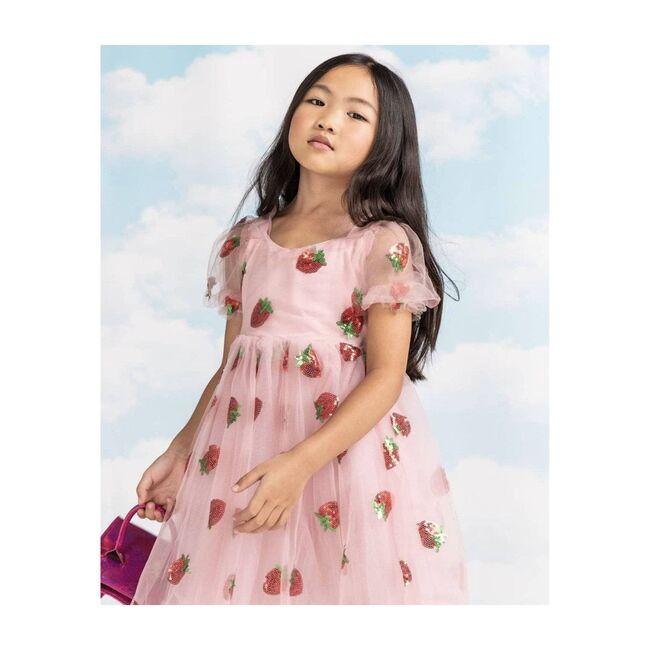 Sequin Dress, Strawberry