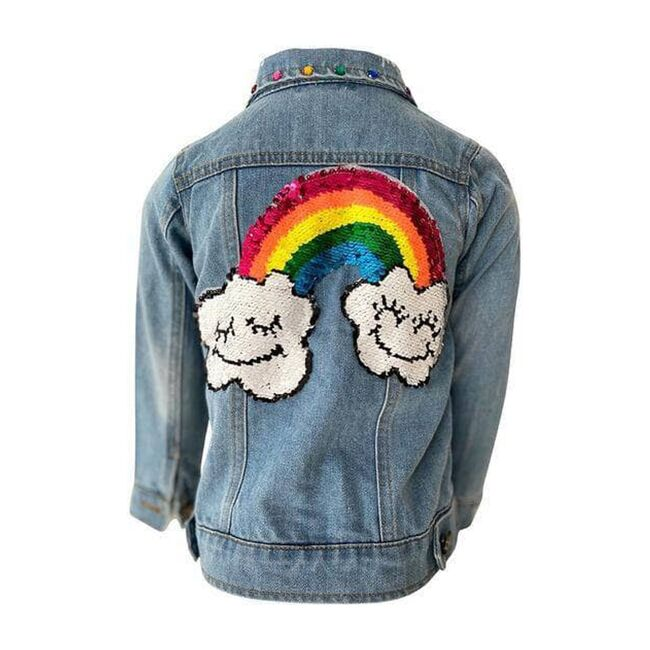 Rainbow Gems Jacket, Denim