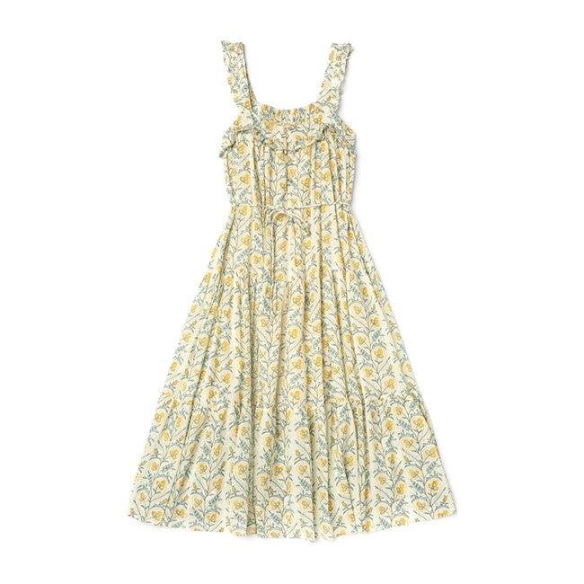 Women's Butterfly Dress, Mustard Wallpaper