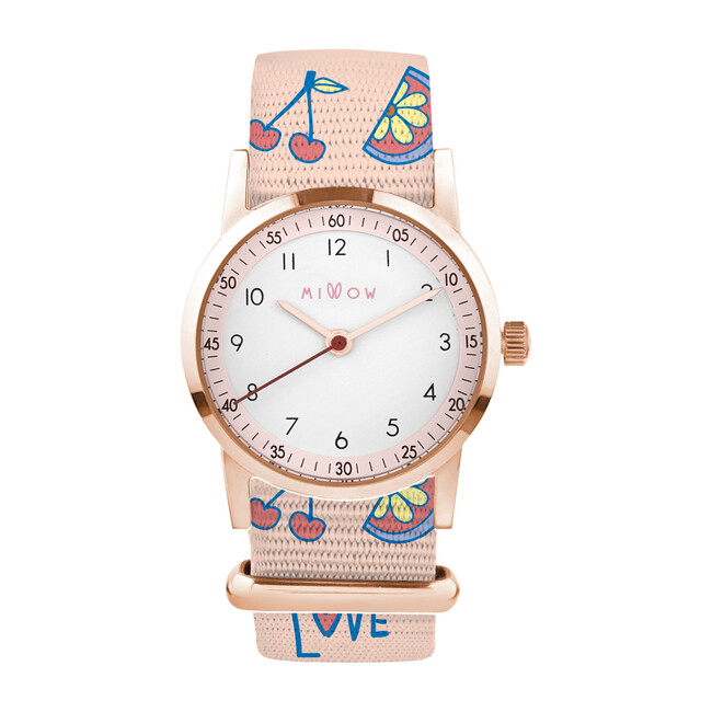 Millow Blossom Watch, Tutti Frutti and Rose Gold