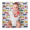 Norani Crib Sheet, Colorful Cars - Crib Sheets - 2