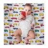 Norani Crib Sheet, Colorful Cars - Crib Sheets - 4